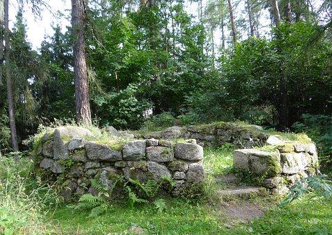 History, Czech Republic, Stone, Forest, Architecture