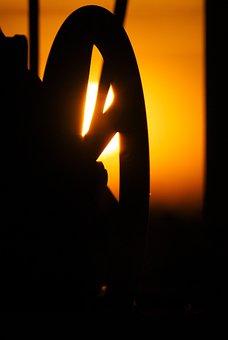 Adjusting Wheel, Führerstand, Steering Wheel, Mood