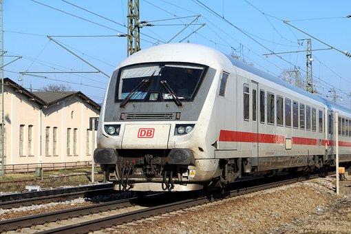 Railway, Train, Transport, Führerstand