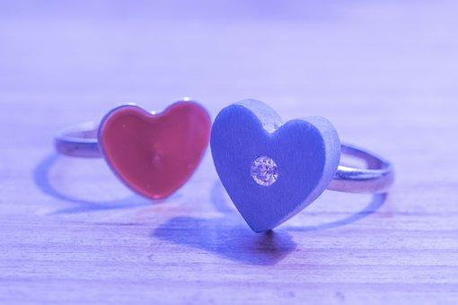 Heart, Ring, Engagement, Before, Wedding, Love