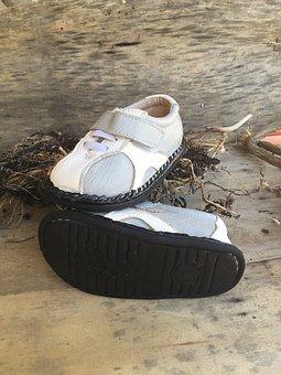 Shoe, Child, Baby, Sandal, Beach, Children, Kid, Nature