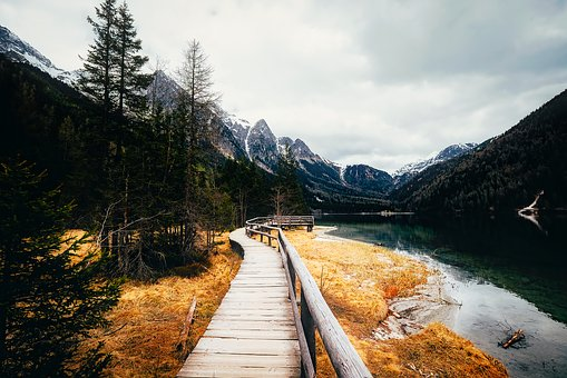 Italy, Lake, Water, Reflections, Walking Trail