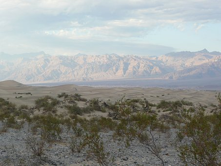 Death, Valley, Nevada, Use, Desert, Landscape, Nature