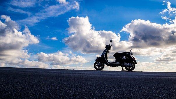 Vespa, Piaggio, Scooter, Retro, Motorbike, Motorcycle