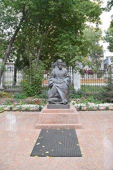 Irkutsk, Monument, Architecture, Park, Statue