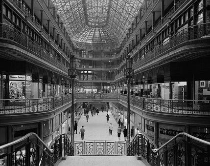 Department Store, Shopping Centre, Arcades, Shopping