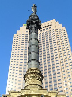 Cleveland, Ohio, Monument, Building, Structure