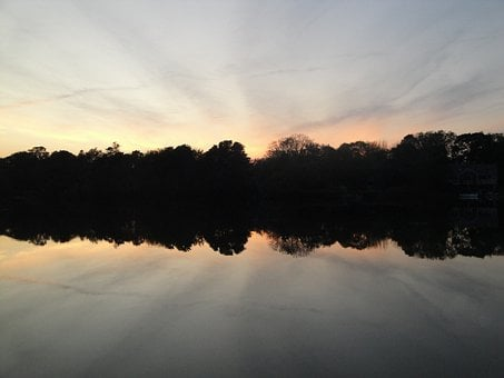 Sunset, Sunrise, Summer, Landscape, Sunlight, Dawn