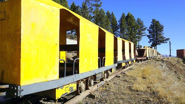 Train, Wagons, Transport, Coal, Old, Tourist Train
