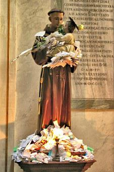 St Anthony, Santa Anthony, Trastevere, Rome, Saint