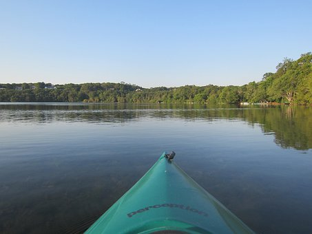 Kayak, Lake, Water, Kayaking, Recreation, Activity