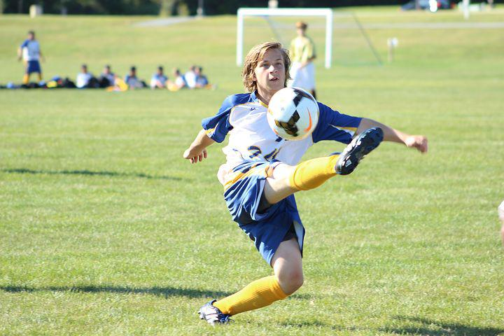 Soccer, Ball, Kick, Kid, Child, Game, Sport, Activity