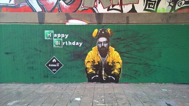 Breaking Bad, Graffiti, Art, Street Art, Wall, Mural