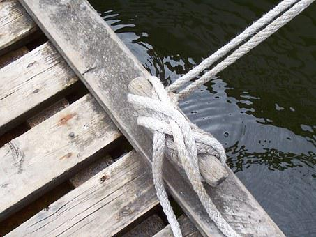Sailor's Knot, Knot, Rope, Seafaring, Web, Boat, Dew