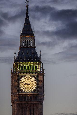 Big Ben, Monument, Watch, Center, City, Downtown