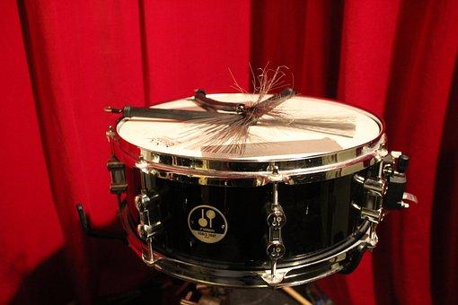Drum, Music, Instruments, Vortex