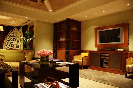 Hotel Rooms, Living Room, Room, Hotel, Villa