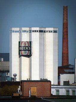 Becks, Brewery, Industry, Brewery Plant, Beer