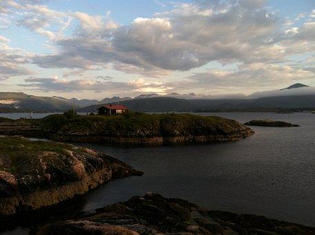 Norway, Island, Isolated, Scandinavia, Picturesque