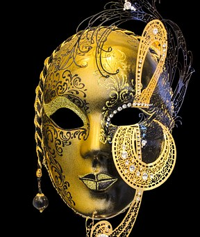 Venice, Mask, Isolated, Carnival, Tradition, Face