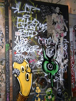 Graffiti, Mural, Murals, Fantasy, Art, Modern Art
