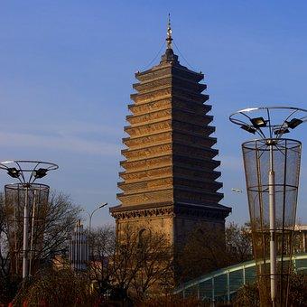 Ancient Tower, Pagoda, Namtha, Liaoning Province
