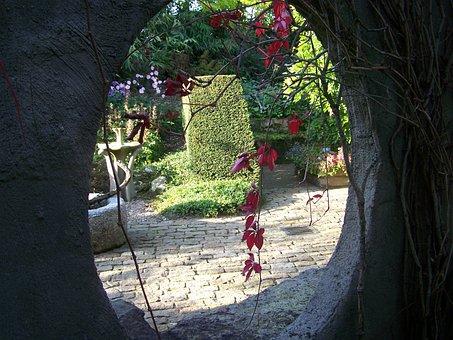 Passage, Garden, Secret Garden