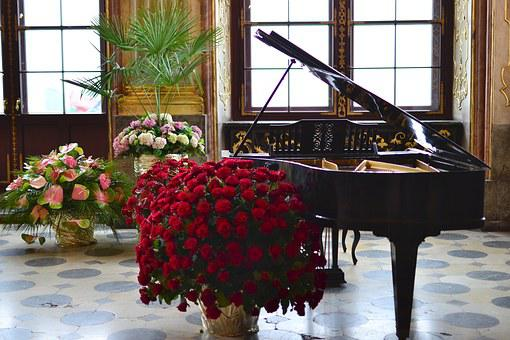 Classics, The Art Of, Piano, Flowers, Classical Music