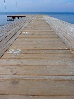 Web, Jetty, Sea, Create, Ocean, Wood, Pier, Wide