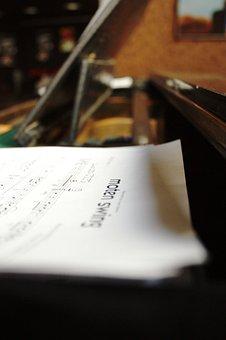 Scores, Piano, Musician, Music, Man, Jazz, Play
