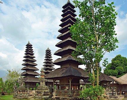 Indonesia, Bali, Taman Temple Ayun, Mengwi, Religion