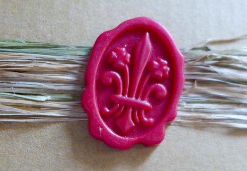 Seal, Wax, Wax Seal, Capping, Ornament, Oval, Secret
