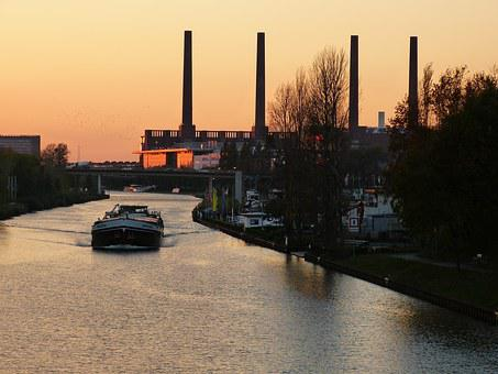 Wolfsburg, Vw, Germany, Volkswagen, Factory