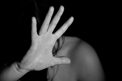 Hand, Woman, Female, Nude, Fear, Violence, Anguish