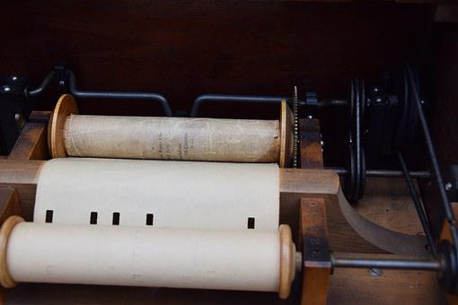 Barrel Organ, Street Organ, Mechanics, Music, Wood