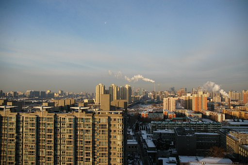 Beijing, China, City, Travel, Urban, Cityscape, Asia
