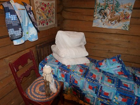 Russia, Cruise, River Cruise, Bed, Wood, Chair, Bedroom