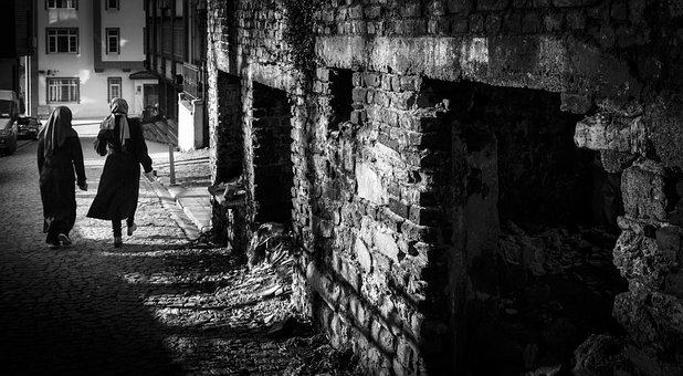 Avenue, Street Photography, Monochrome, Black And White