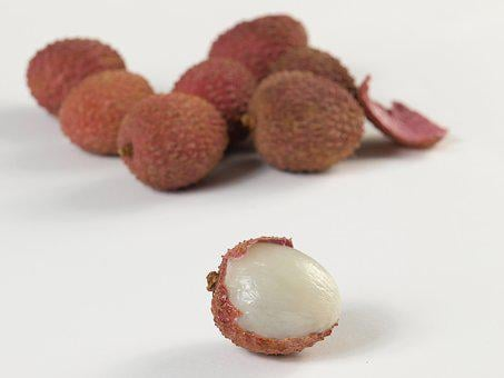 Lychees, Fruits, Red, Fruit, Asia, Chinese Cuisine