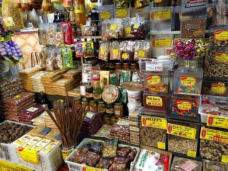 Brazilian, Market, Candy, Delicious, Cuisine, Colorful