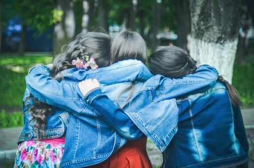 Friends, Girlfriend, Friendship, Girls, Spring