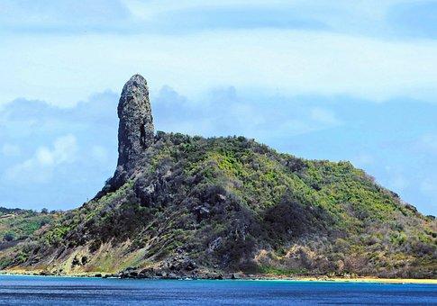Brazil, Archipelago Of Fernando De Noronha, Ile