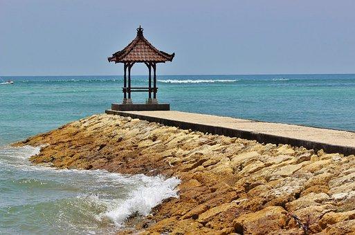 Bali, Nusa Dua, Beach, Indonesian, Indonesia, Asian