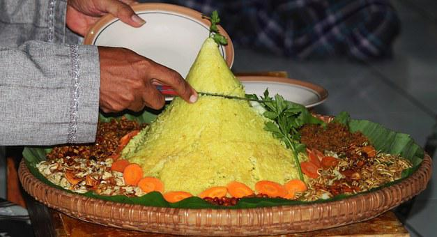 Tumpeng, Traditional Food, Indonesian Food, A Ceremony