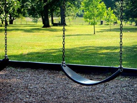 Park, Playground, Swing, Summer, Play, Kids Playground
