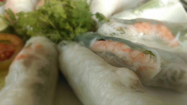 Spring Rolls, Vietnamese, Kitchen, Rolls, Cooking
