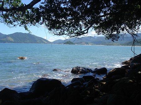 Beach, Brazil, Sand, Landscape, Ocean, Summer, Sea