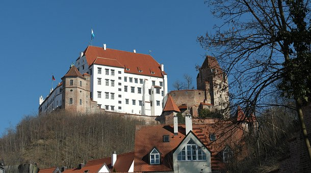 Landshut, City, Bavaria, Historically, Trausnitz Castle