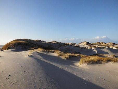 Sand, Dunes, Amrum, Sand Dune, Nature Reserve