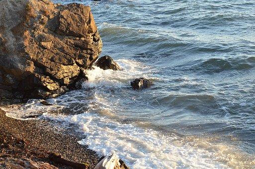 Nature, Outdoor, Ocean, Beach, Action, Water, Wave